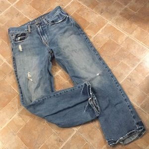 American Eagle low loose jeans size men's 28/28